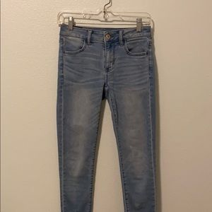 AEO super stretch jeans